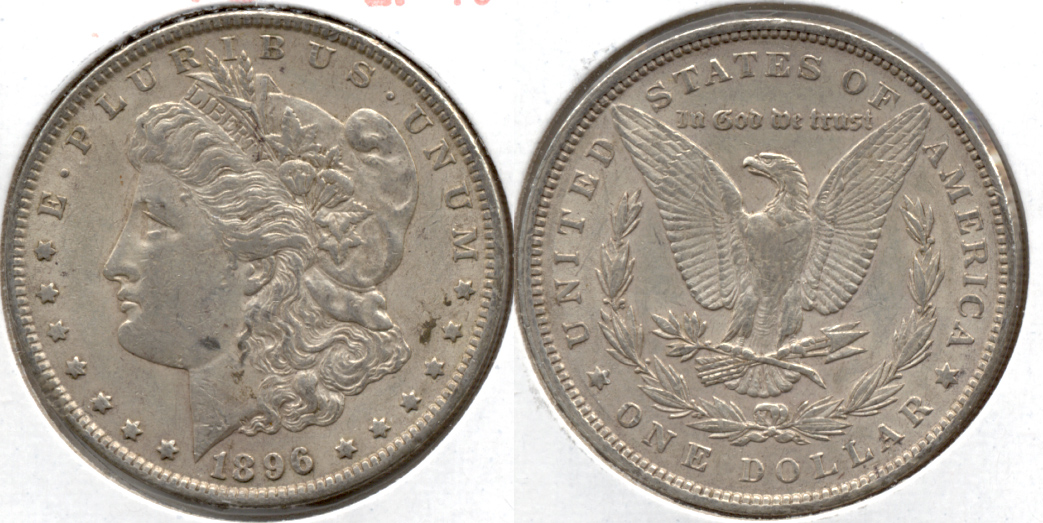 1896 Morgan Silver Dollar EF-40 aa