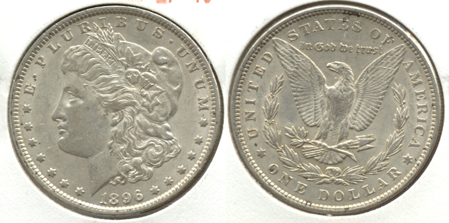 1896 Morgan Silver Dollar EF-40 s