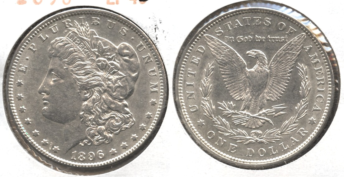 1896 Morgan Silver Dollar EF-45 #al
