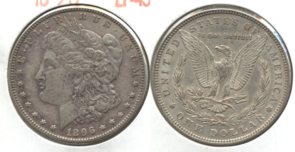 1896 Morgan Silver Dollar EF-45 i