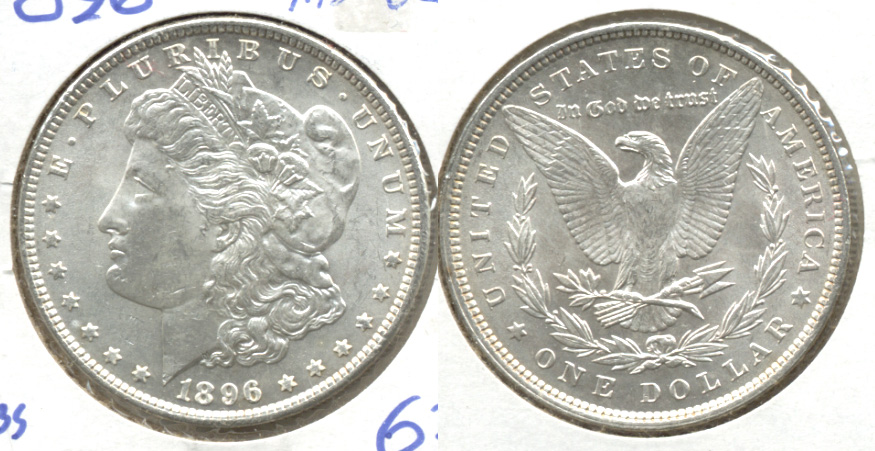 1896 Morgan Silver Dollar MS-62