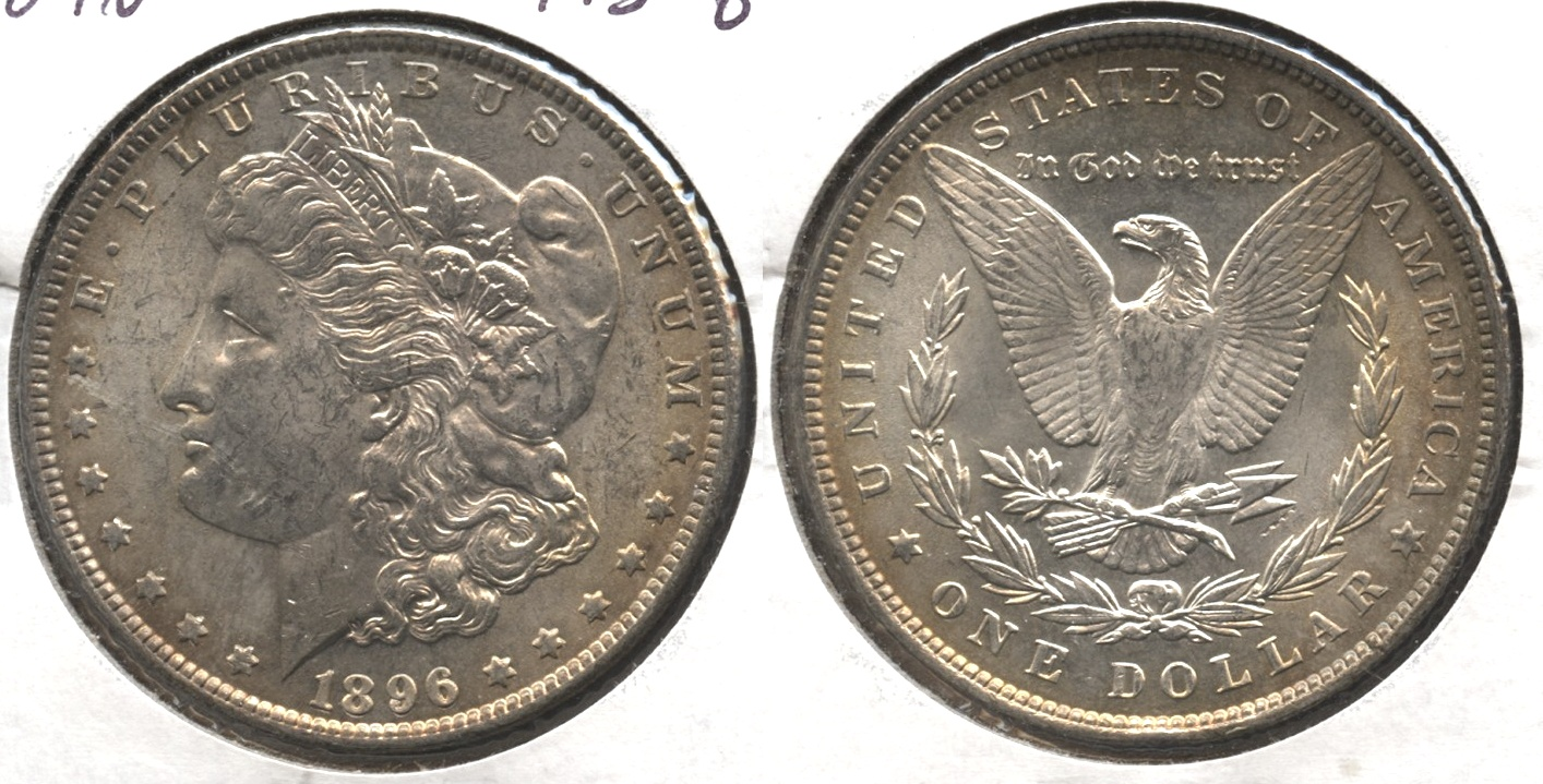 1896 Morgan Silver Dollar MS-62 #a