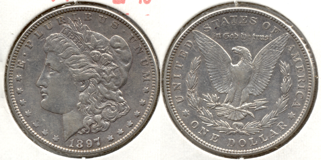 1897 Morgan Silver Dollar EF-40 g