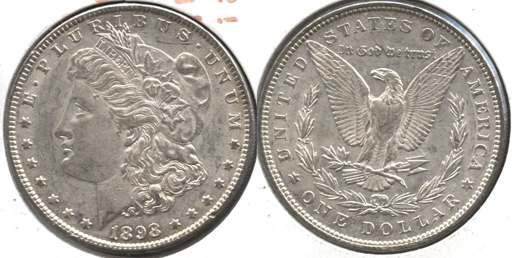1898 Morgan Silver Dollar EF-40 #aa
