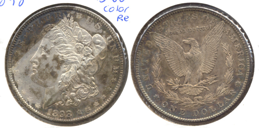 1898 Morgan Silver Dollar MS-60 e