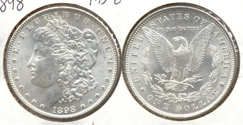 1898 Morgan Silver Dollar MS-63