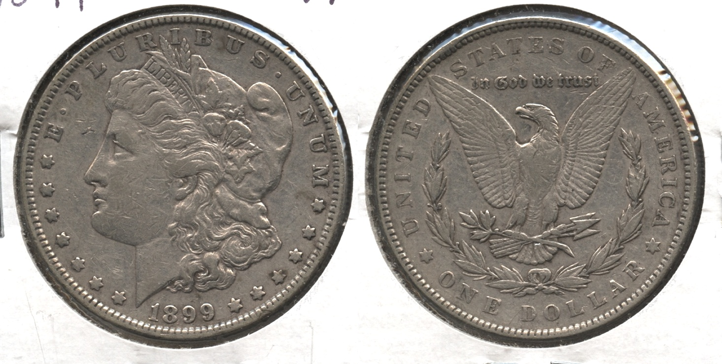 1899 Morgan Silver Dollar VF-20 #a