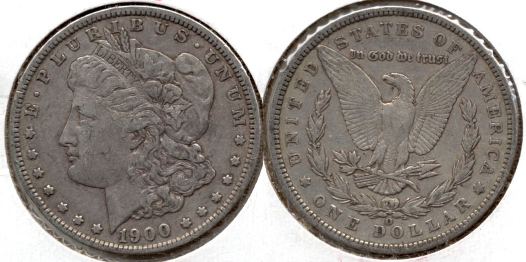 1900-O Morgan Silver Dollar VF-20 g