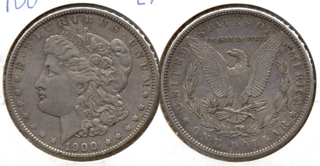 1900 Morgan Silver Dollar EF-40 ae