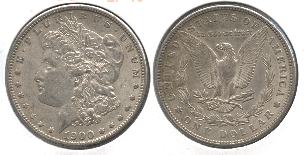 1900 Morgan Silver Dollar EF-40 #at