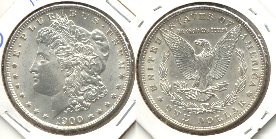 1900 Morgan Silver Dollar MS-63 a