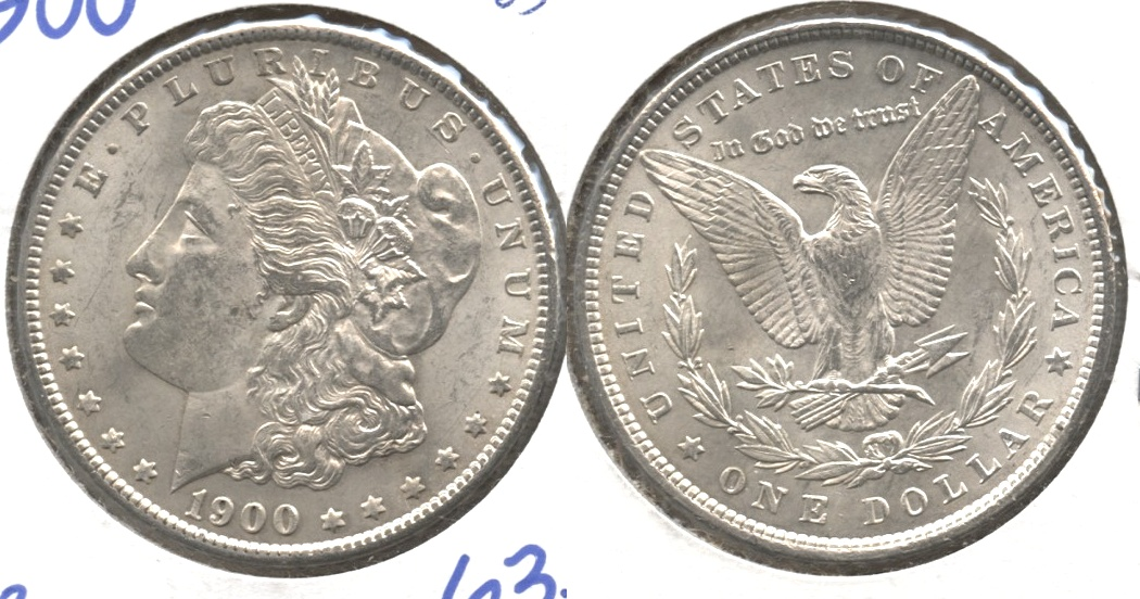 1900 Morgan Silver Dollar MS-63 #b