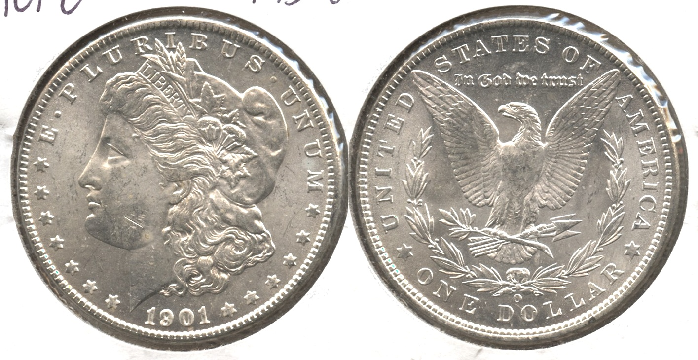 1901-O Morgan Silver Dollar MS-60 #d