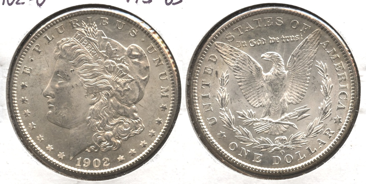 1902-O Morgan Silver Dollar MS-63 #f
