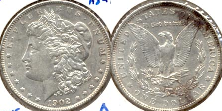1902 Morgan Silver Dollar AU-50