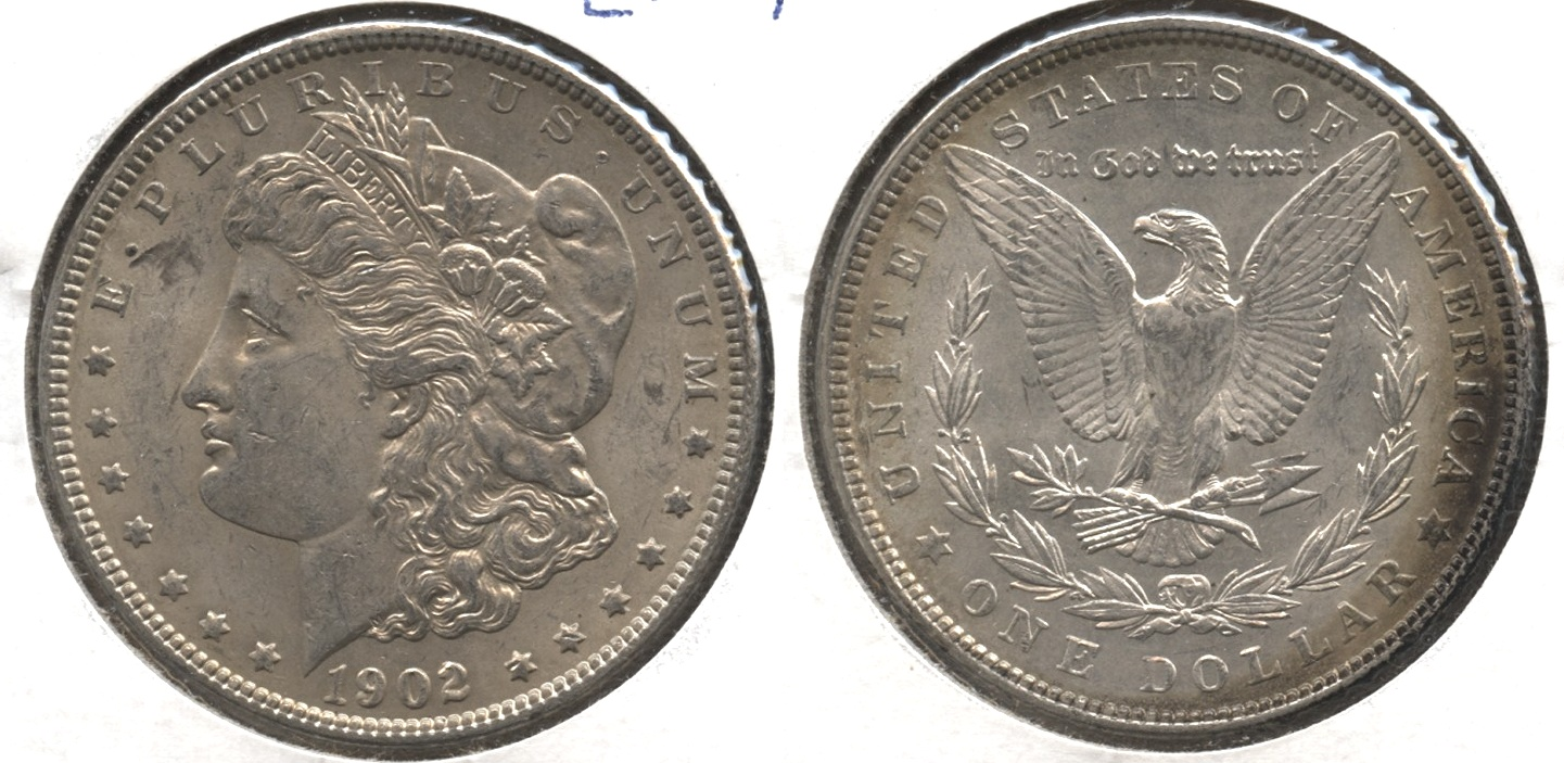 1902 Morgan Silver Dollar EF-45