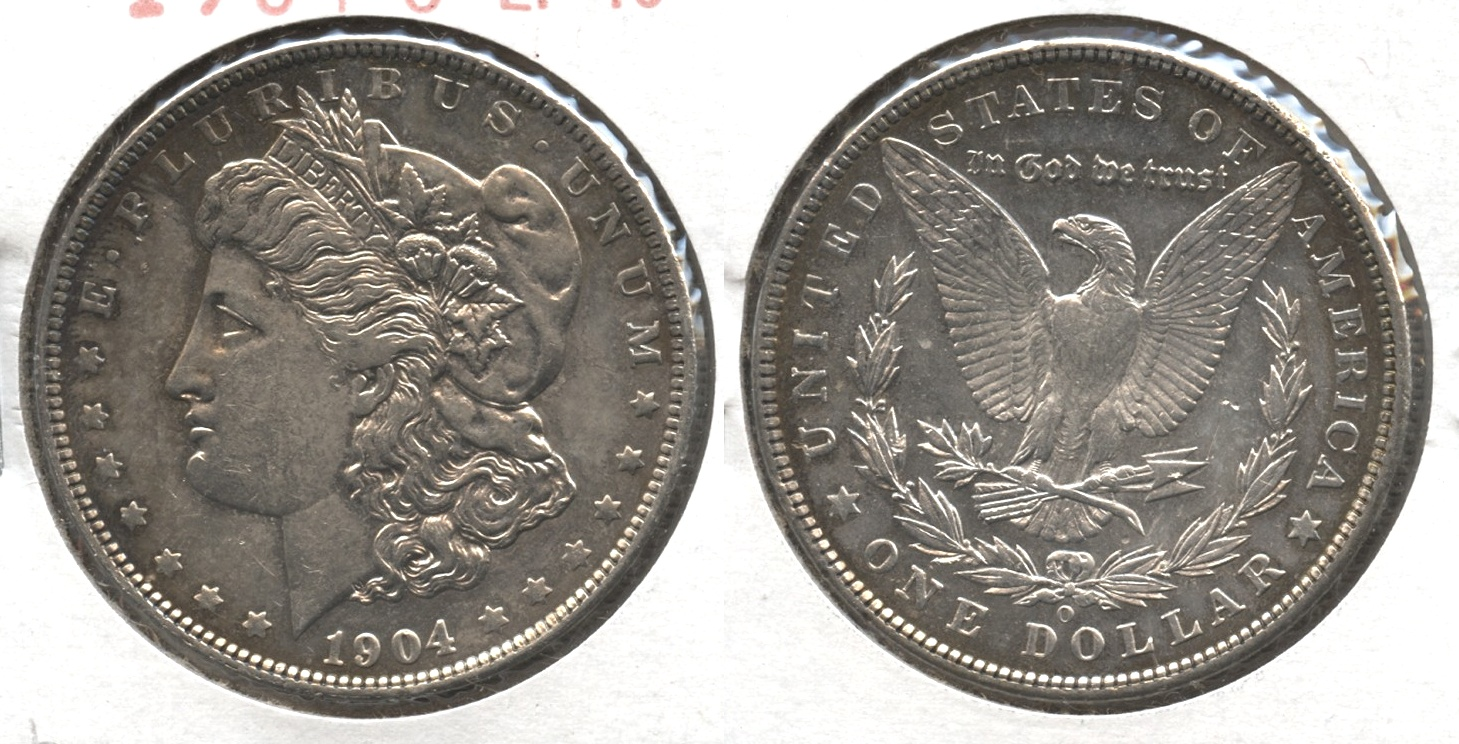 1904-O Morgan Silver Dollar EF-40 #b