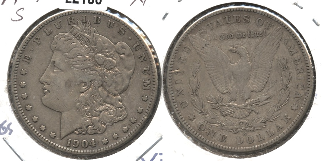 1904-S Morgan Silver Dollar EF-40