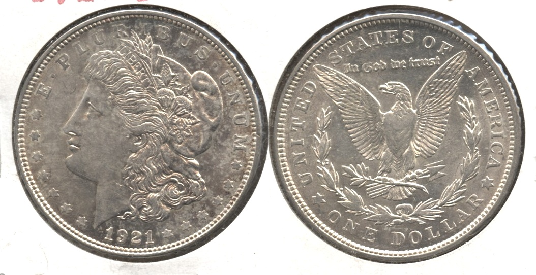 1921-D Morgan Silver Dollar EF-40 #h