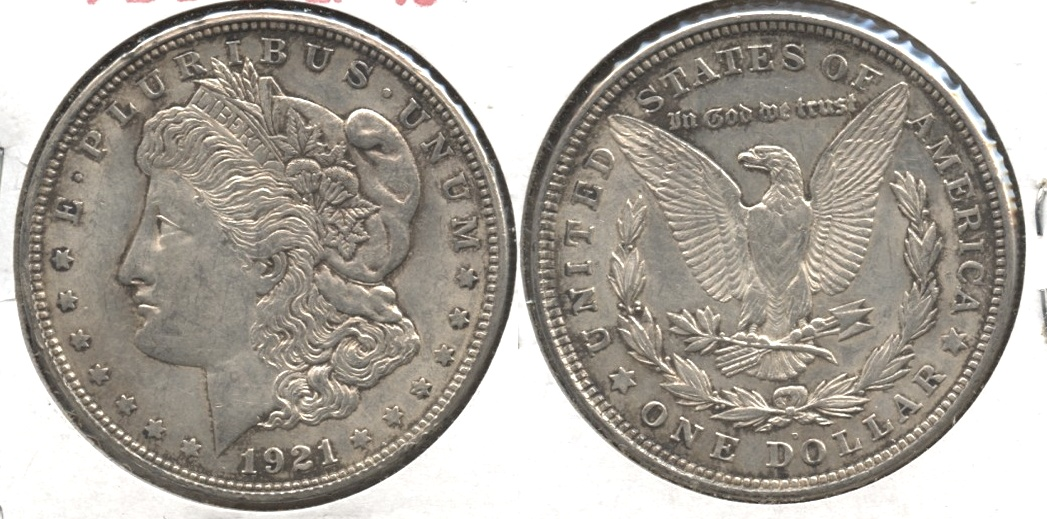 1921-D Morgan Silver Dollar EF-40 #j