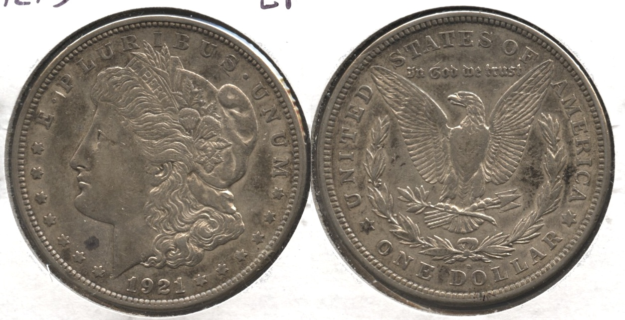 1921-D Morgan Silver Dollar EF-40 #q