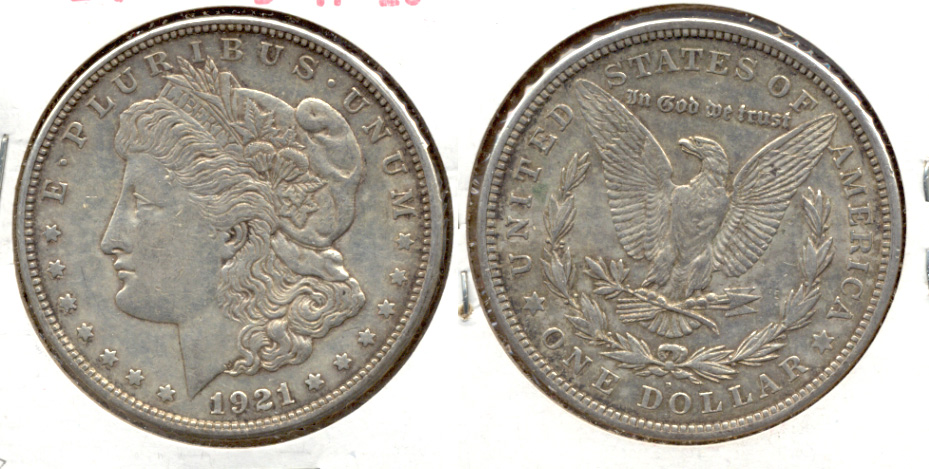 1921-D Morgan Silver Dollar VF-20 e