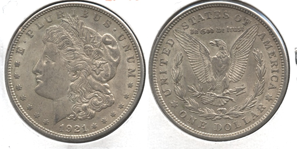 1921 Morgan Silver Dollar EF-40 #ai