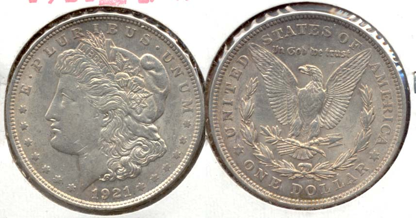 1921 Morgan Silver Dollar EF-40 q