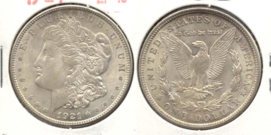 1921 Morgan Silver Dollar EF-45 o