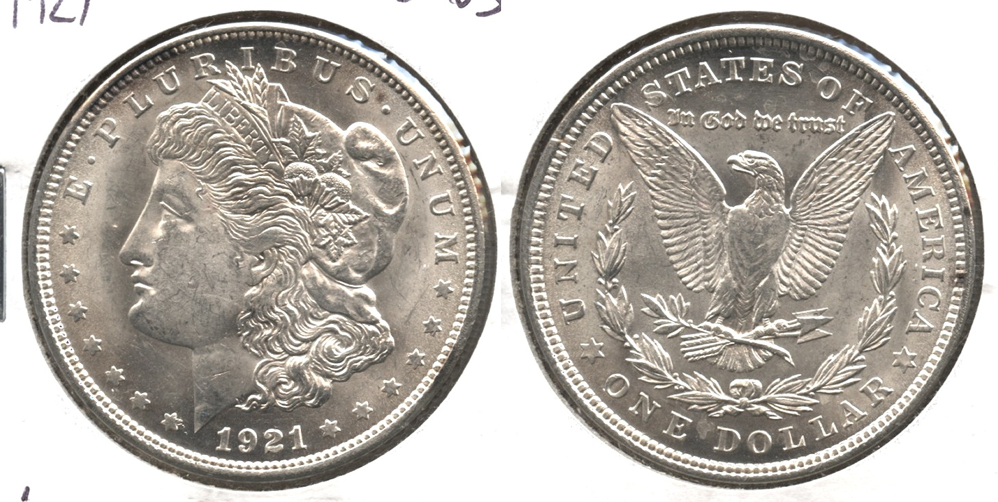 1921 Morgan Silver Dollar MS-63 #i