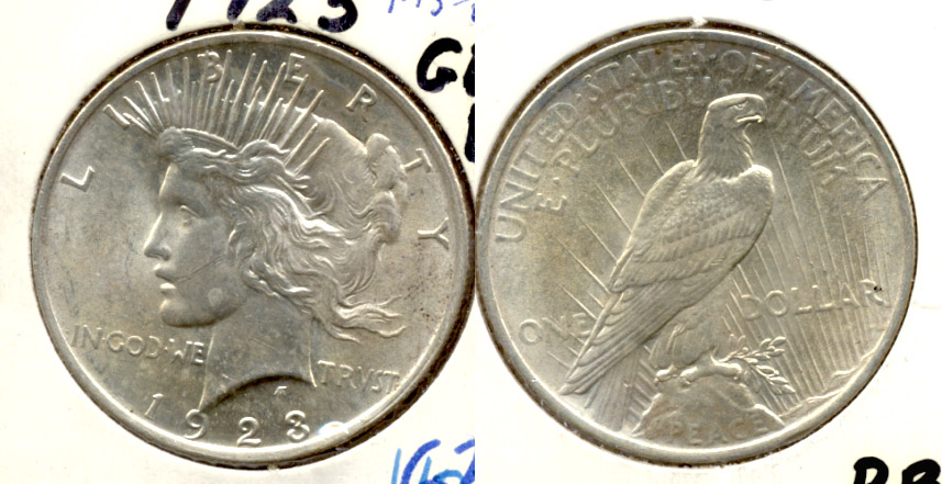 1923 Peace Silver Dollar MS-62 c