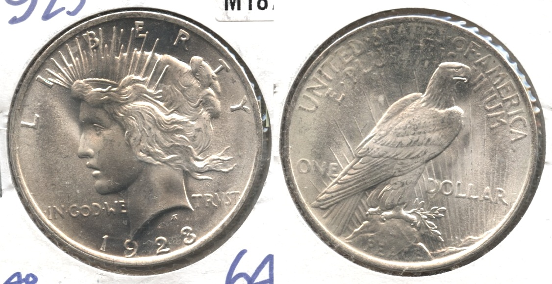 1923 Peace Silver Dollar MS-64 #a