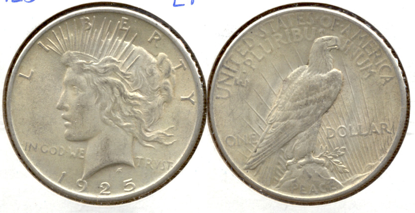 1925 Peace Silver Dollar EF-40