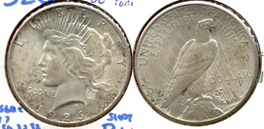 1926 Peace Silver Dollar MS-60