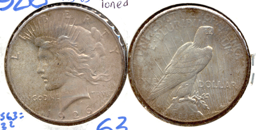 1926 Peace Silver Dollar MS-63
