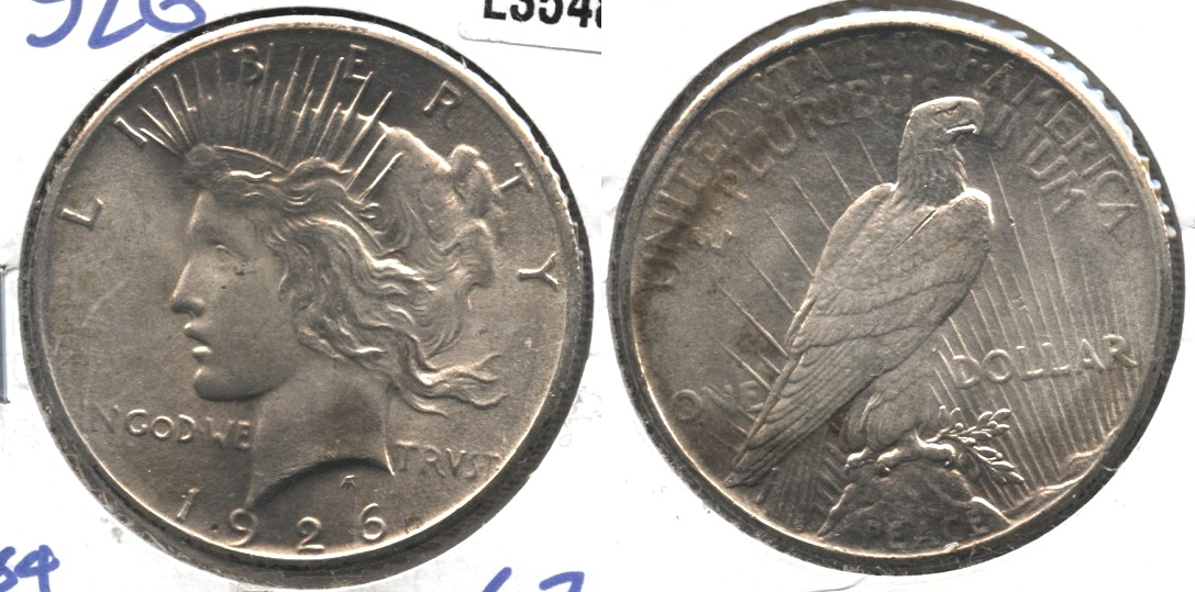 1926 Peace Silver Dollar MS-63 #a