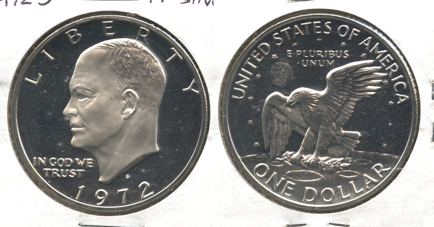 1972-S Eisenhower Dollar Silver Proof