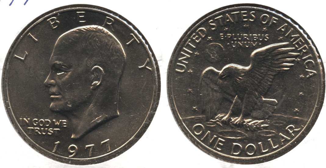 1977 Eisenhower Dollar Mint State