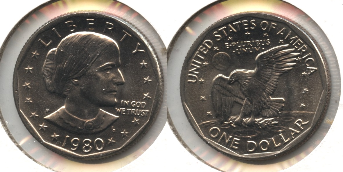 1980-P Anthony Dollar Mint State