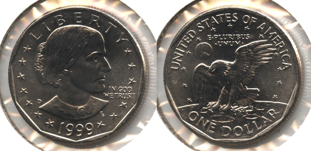 1999-D Anthony Dollar Mint State