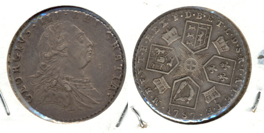 1787 Great Britain 6 Pence EF-40