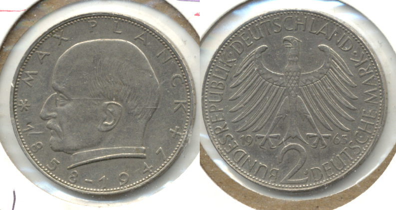 1963-J Germany 2 Mark EF-40