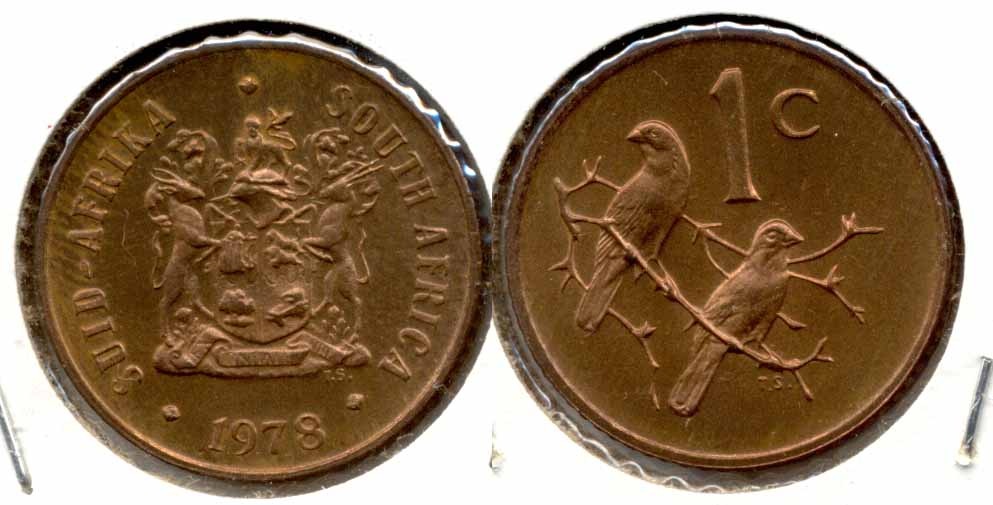 1978 South Africa 1 Cent MS
