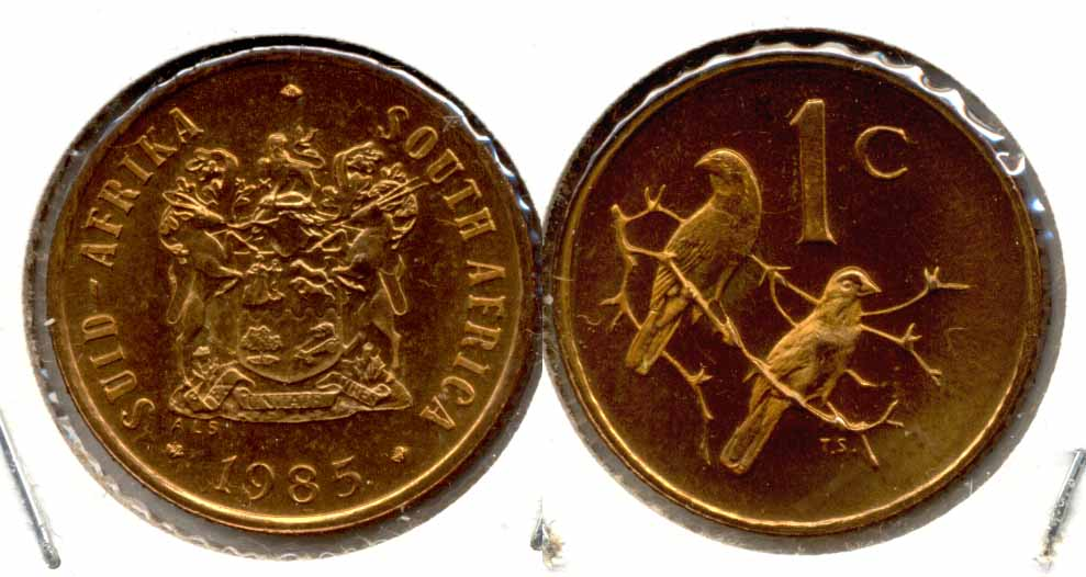 1985 South Africa 1 Cent MS