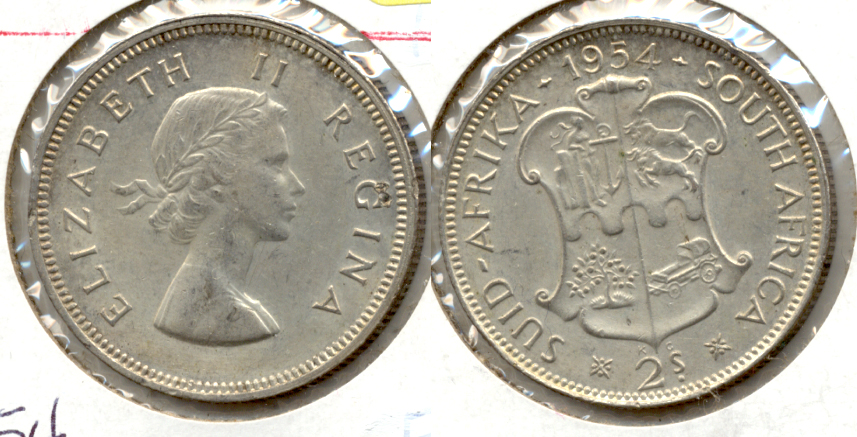 1954 South Africa Florin EF-40
