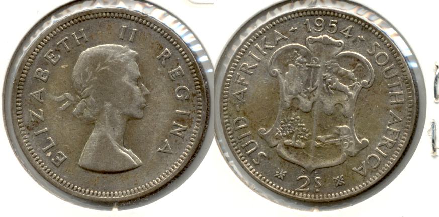 1954 South Africa Florin VF-30