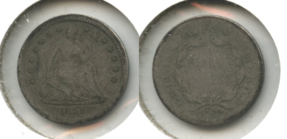 1856 Seated Liberty Half Dime AG-3 #c