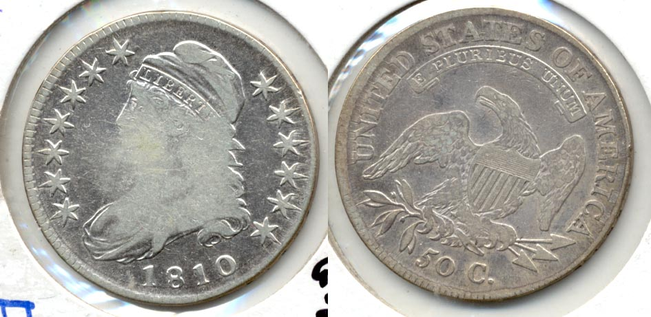 1810 Capped Bust Half Dollar Fine-12