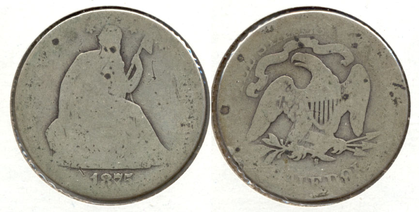 1875-S Seated Liberty Half Dollar Fair-2
