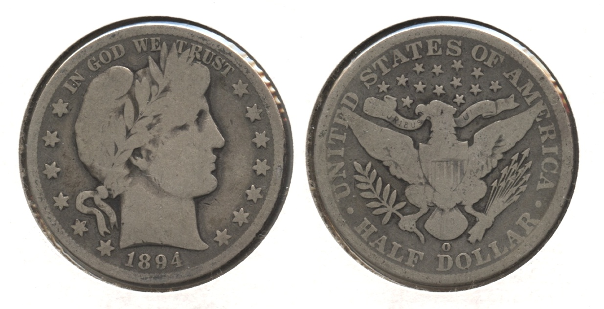 1894-O Barber Half Dollar Good-6